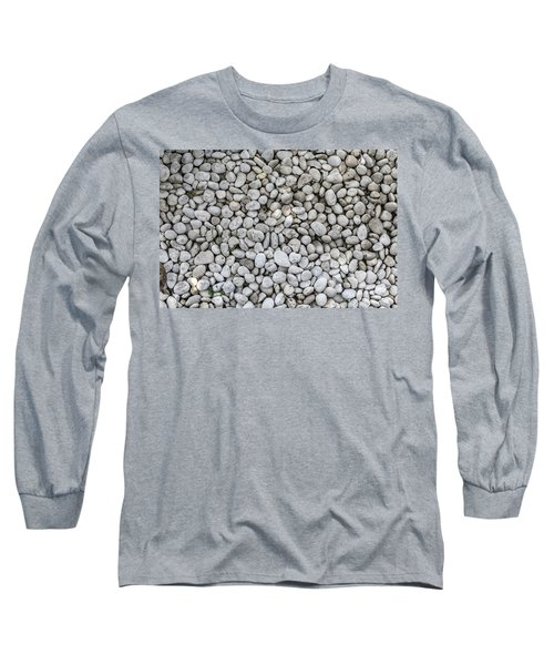 White Rocks Field Long Sleeve T-Shirt by Jingjits Photography