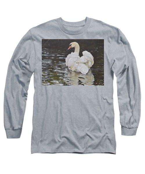White Swan Long Sleeve T-Shirt