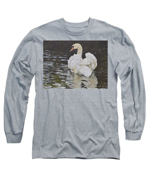 White Swan Long Sleeve T-Shirt