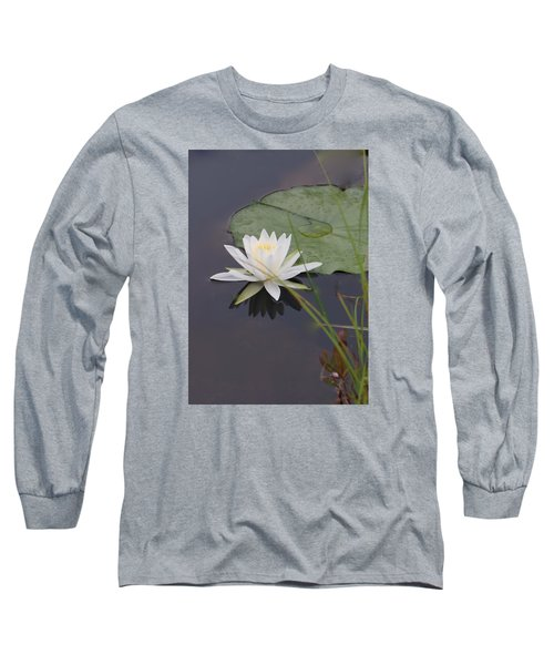 White Water Lotus Long Sleeve T-Shirt