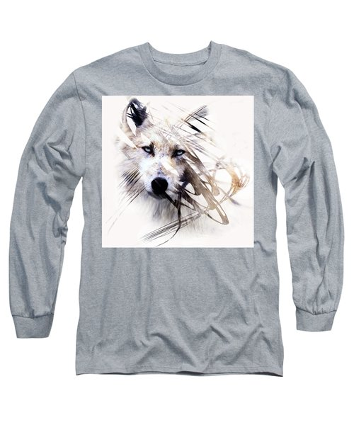 White Wolf Long Sleeve T-Shirt