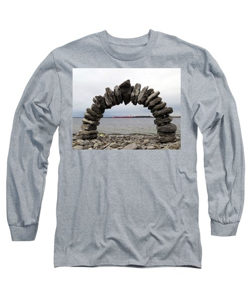 Whitefish Bay Under The Arch Long Sleeve T-Shirt