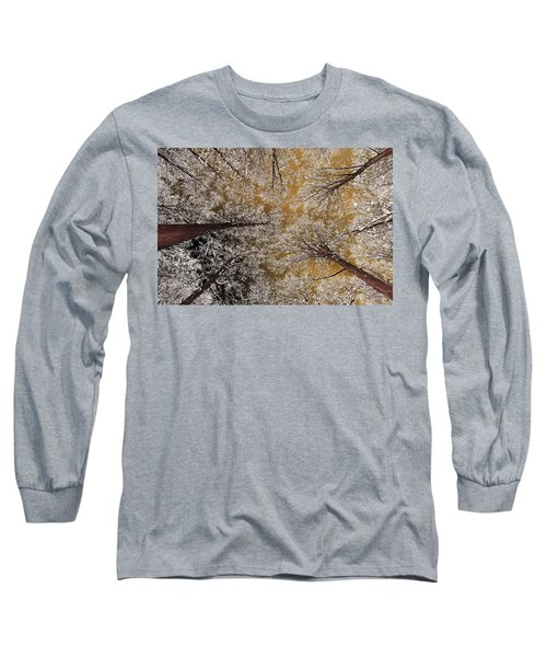 Long Sleeve T-Shirt featuring the photograph Whiteout by Tony Beck