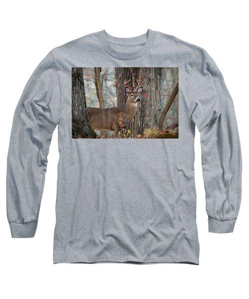 Whitetail #60 Long Sleeve T-Shirt