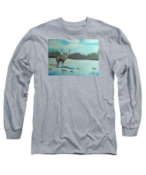 Whitetail Buck Long Sleeve T-Shirt
