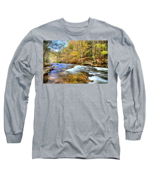 Whitetop River Fall Long Sleeve T-Shirt