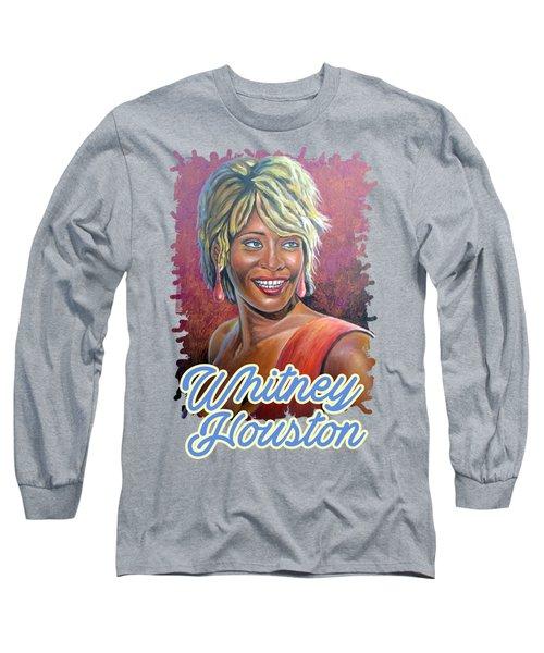 Whitney Houston Long Sleeve T-Shirt