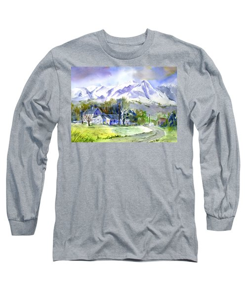 Whitney's White House Ranch Long Sleeve T-Shirt