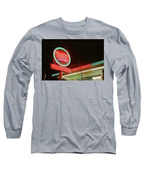 Whiz Burgers Neon, San Francisco Long Sleeve T-Shirt