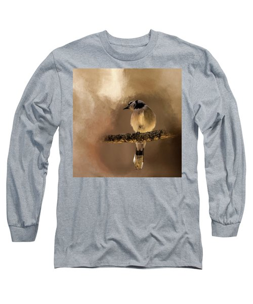 Who's There? Long Sleeve T-Shirt by Cyndy Doty