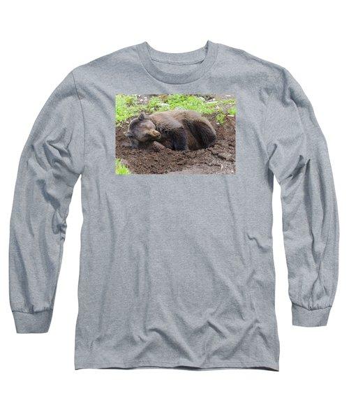 Whose Making Noise Long Sleeve T-Shirt by Harold Piskiel