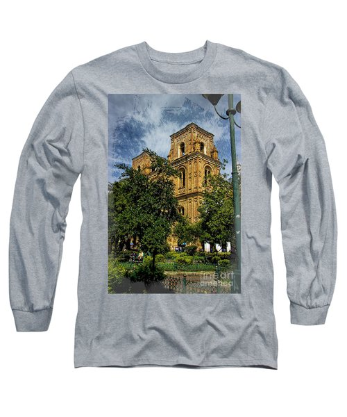 Long Sleeve T-Shirt featuring the photograph Why Do I Live Here? II by Al Bourassa