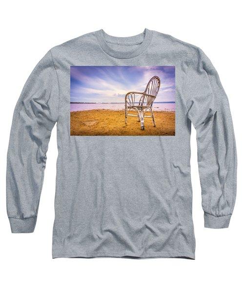 Wicker Chair Long Sleeve T-Shirt