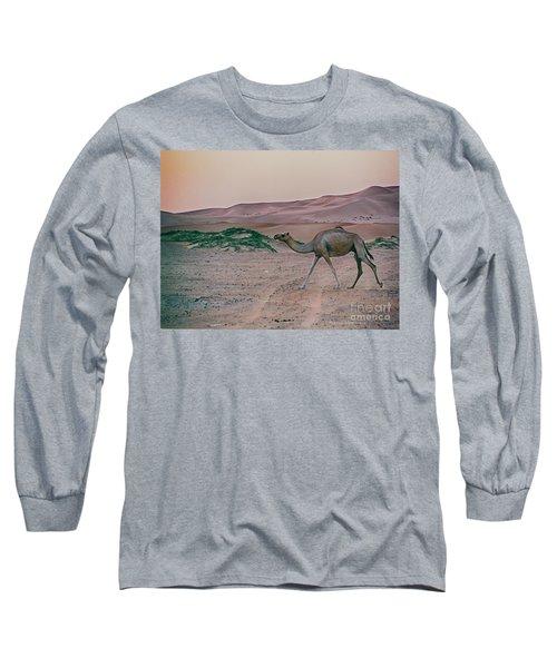 Wild Camel Long Sleeve T-Shirt
