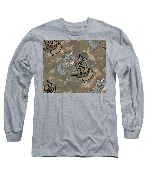 Wild Clown Long Sleeve T-Shirt