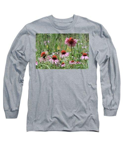 Wild Coneflowers Long Sleeve T-Shirt