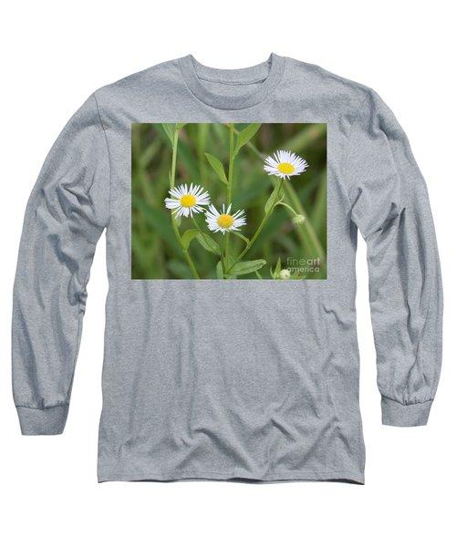 Wild Flower Sunny Side Up Long Sleeve T-Shirt
