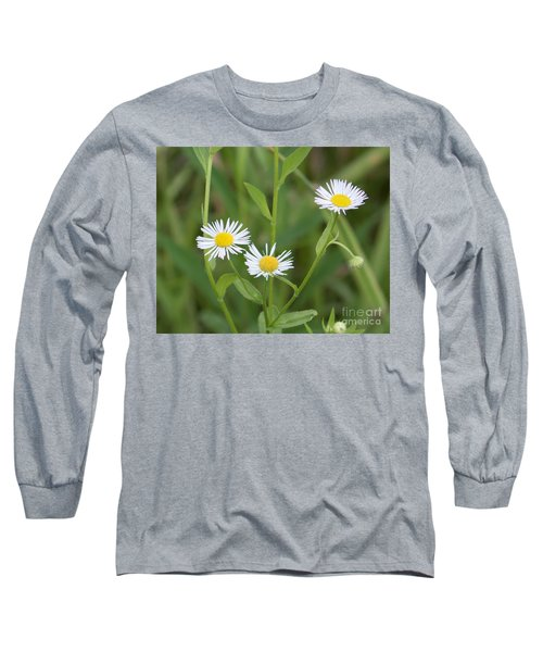 Wild Flower Sunny Side Up Long Sleeve T-Shirt