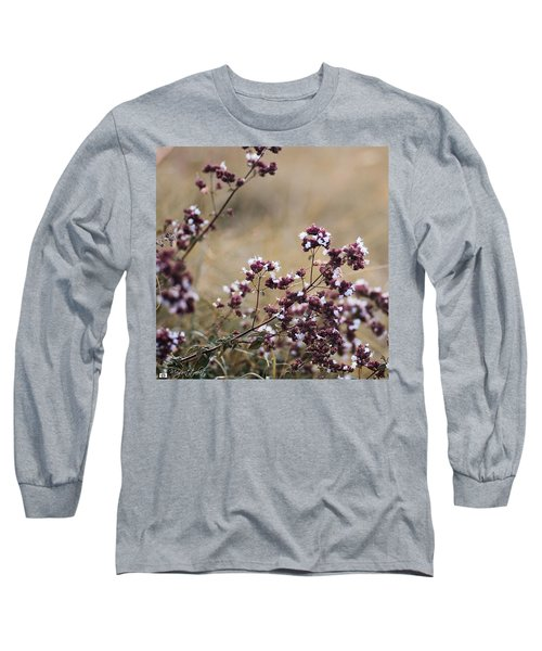 Wild Herbs  #herbs Long Sleeve T-Shirt