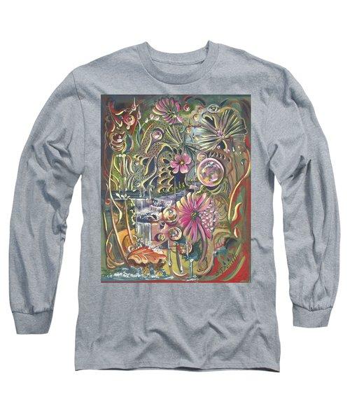 Wild Honeycomb Long Sleeve T-Shirt
