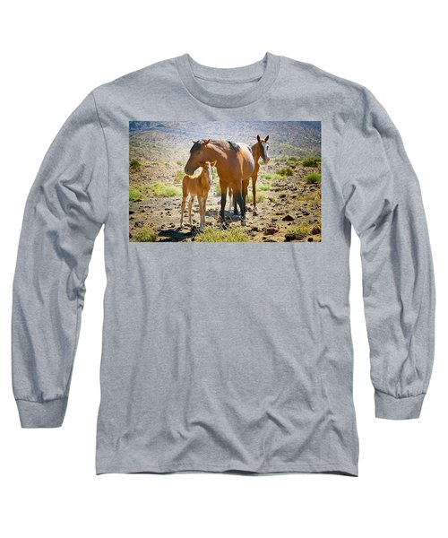 Wild Horse Family Long Sleeve T-Shirt