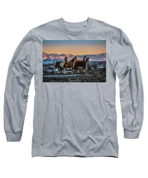 Wild Horse Group Long Sleeve T-Shirt