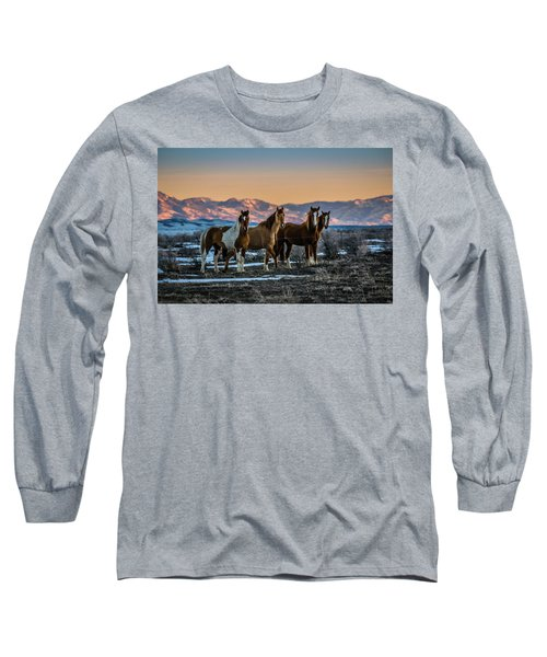 Wild Horse Group Long Sleeve T-Shirt