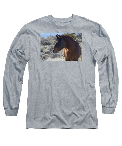Wild Mustang Mare Long Sleeve T-Shirt