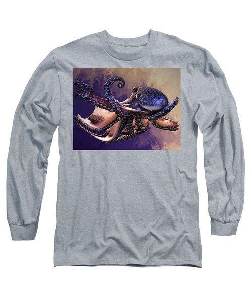 Wild Octopus Long Sleeve T-Shirt