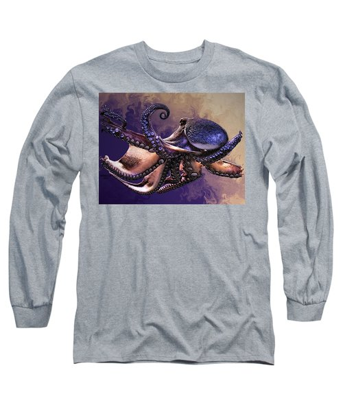 Wild Octopus Long Sleeve T-Shirt