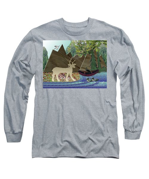 Wild Rural Animals Long Sleeve T-Shirt