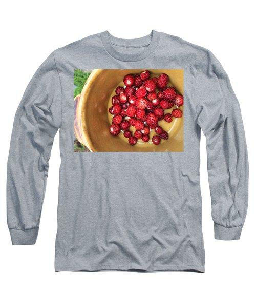 Wild Strawberry Long Sleeve T-Shirt