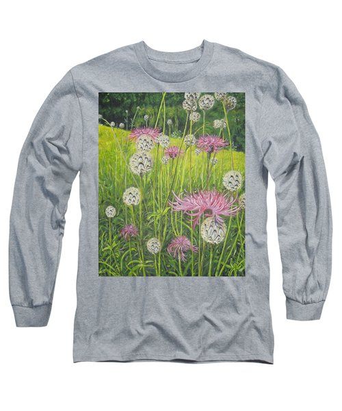 Wild Thistles Long Sleeve T-Shirt