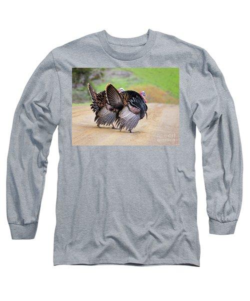Wild Turkeys Long Sleeve T-Shirt