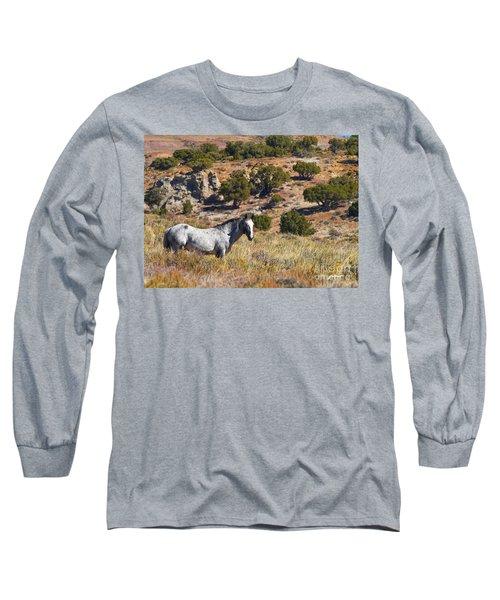 Wild Wyoming Long Sleeve T-Shirt