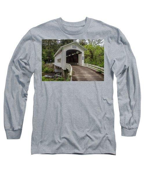 Wildcat Creek Bridge No. 1 Long Sleeve T-Shirt
