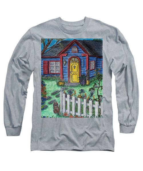 Wildflower Cottage Long Sleeve T-Shirt