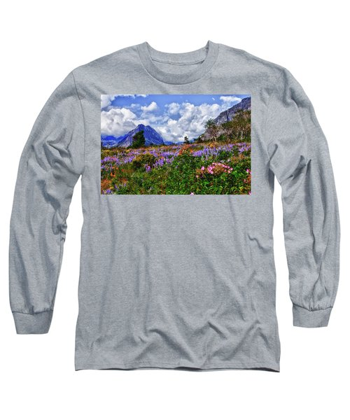 Wildflower Profusion Long Sleeve T-Shirt