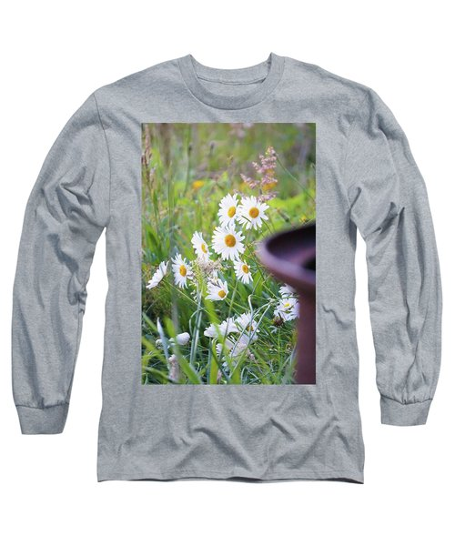Long Sleeve T-Shirt featuring the photograph Wildflowers by Angi Parks