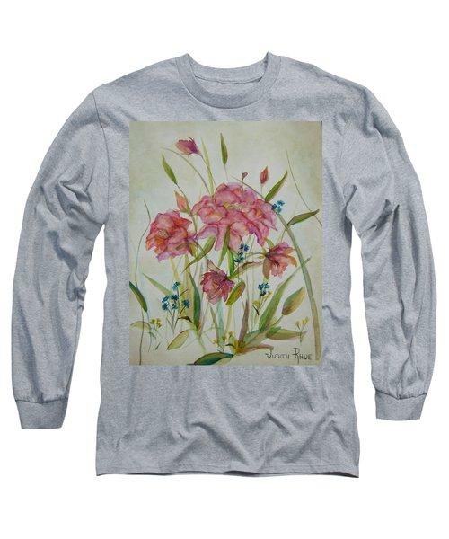 Wildflowers Long Sleeve T-Shirt by Judith Rhue