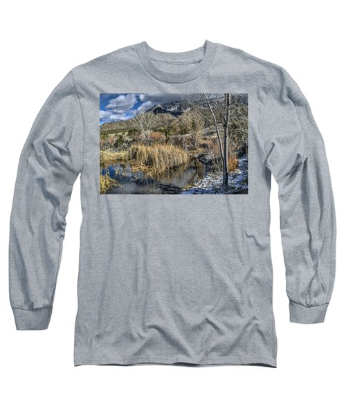 Wildlife Water Hole Long Sleeve T-Shirt by Alan Toepfer