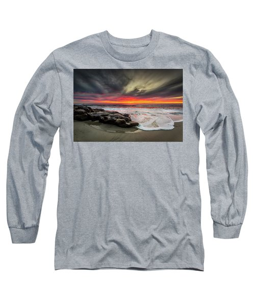 Long Sleeve T-Shirt featuring the photograph Will Of The Wind by Peter Tellone