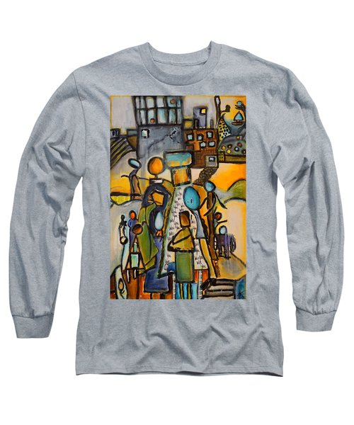 Will You Long Sleeve T-Shirt by Theresa Marie Johnson