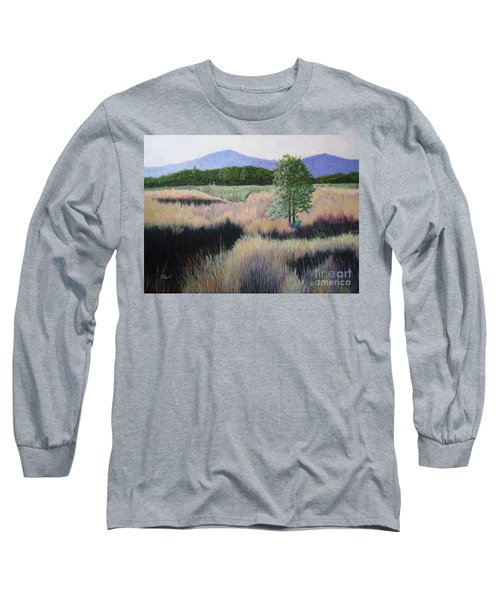 Willamette Evening Shadows Long Sleeve T-Shirt