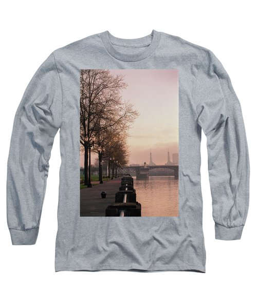 Willamette Riverfront, Portland, Oregon Long Sleeve T-Shirt