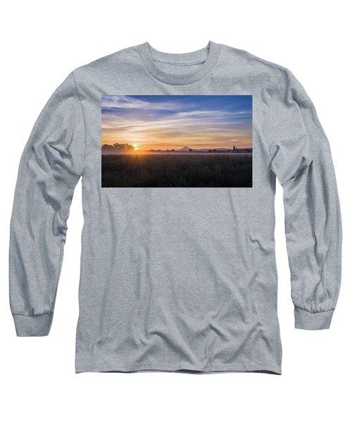 Willamette Valley Sunrise Long Sleeve T-Shirt