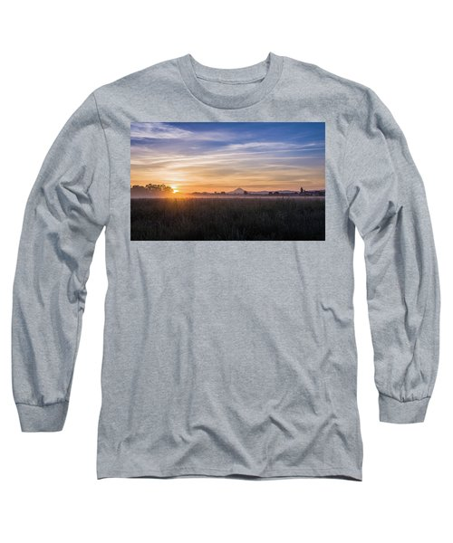 Willamette Valley Sunrise Long Sleeve T-Shirt