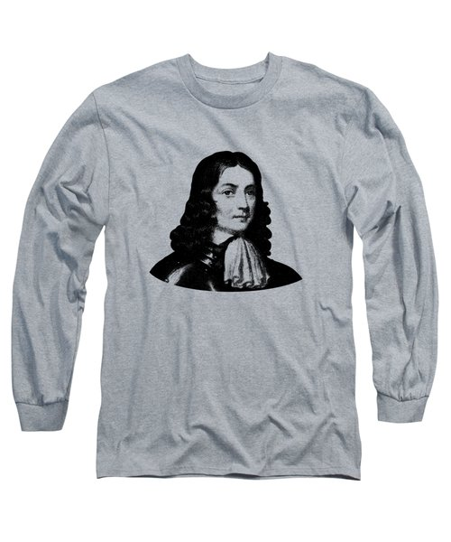 William Penn - Pennsylvania Founder Long Sleeve T-Shirt by War Is Hell Store