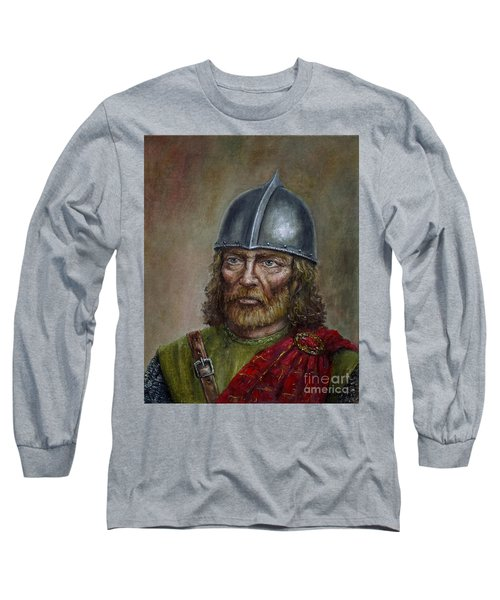 William Wallace Long Sleeve T-Shirt by Arturas Slapsys