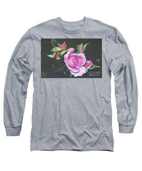 Will's Rose Long Sleeve T-Shirt